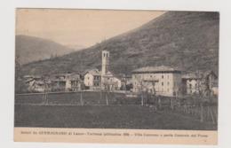 Germagnano (TO)   Villa Camosso E Parte Centrale Del Paese  - F.p. - Anni ' 1920 - Otras Ciudades