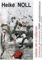 Affiche Exposition De Heike NOLL à Colmar Ft 32 X 45 Cm - Acryliques