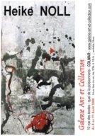 Affiche Exposition De Heike NOLL à Colmar Ft 32 X 45 Cm - Posters