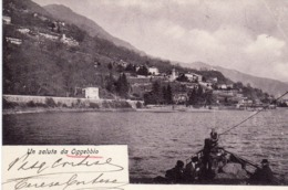 Piemonte - Verbano-Cusio-Ossola- Un Saluto Da Oggebbio - - Verbania