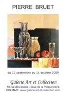Affiche Exposition De Pierre BRUET à Colmar Ft 32 X 45 Cm - Non Classés