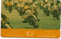 @+ Macao -  1990 - 250Cc Motorcycles - Ref : MAC-2 - Macao