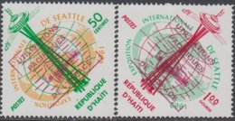 Haiti 1963 Peaceful Use Of Space-Utilisation Pacifiques De L'Espace ** - Haití