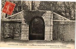 CPA CHATILLON COLIGNY Porte Des Anciennes Fortifications Du Chateau (228489) - Chatillon Coligny