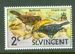 St Vincent Grenadines: 1974   Birds 'Grenadines Of' OVPT  SG4w    2c   [Wmk Inverted]     MNH - St.Vincent & Grenadines