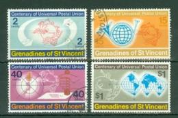 St Vincent Grenadines: 1974   U.P.U. Centenary     Used - St.Vincent & Grenadines