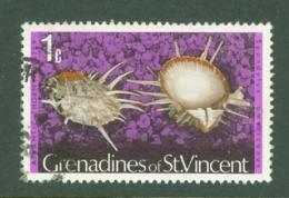 St Vincent Grenadines: 1974/77   Shells & Molluscs  SG35A    1c   [No Imprint Date]    Used - St.Vincent & Grenadines