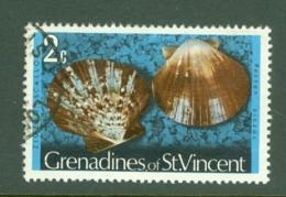 St Vincent Grenadines: 1974/77   Shells & Molluscs  SG36A    2c   [No Imprint Date]    Used - St.Vincent & Grenadines