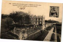 CPA CHATILLON-COLIGNY - Galeries Du XVII Siecle Magnifique... (228519) - Chatillon Coligny