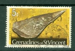 St Vincent Grenadines: 1974/77   Shells & Molluscs  SG39B    5c   [imprint Date '1976']    Used - St.Vincent & Grenadines
