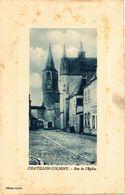 CPA CHATILLON-COLIGNY - Rue De L'Église (228523) - Chatillon Coligny