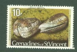 St Vincent Grenadines: 1974/77   Shells & Molluscs  SG42A    10c   [No Imprint Date]    Used - St.Vincent & Grenadines