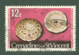 St Vincent Grenadines: 1974/77   Shells & Molluscs  SG43A    12c   [No Imprint Date]    Used - St.Vincent & Grenadines