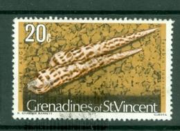 St Vincent Grenadines: 1974/77   Shells & Molluscs  SG45B    20c   [imprint Date '1977']    Used - St.Vincent & Grenadines