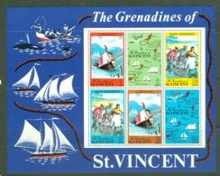 St Vincent: 1971   The Grenadines Of St Vincent   M/S   MNH - St.Vincent (...-1979)