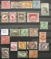 CONGO BELGE Lot De 22 Timbres Belles Oblitérations Thysville Nizi Bunia ... BELGIAN CONGO Stamps Belgium Belgie - Congo Belge