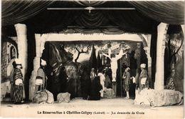CPA La Resurrection A CHATILLON-COLIGNY-La Descente De Croix (264560) - Chatillon Coligny