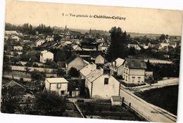 CPA Vue Générale De CHATILLON-COLIGNY (264581) - Chatillon Coligny
