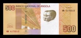Angola 500 Kwanzas 2012 (2018) Pick 155b SC UNC - Angola