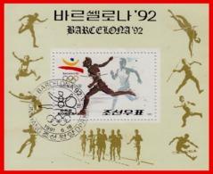 KOREA HOJITA OLIMPIADAS BARCELONA AÑO 92 - Corea (...-1945)