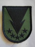 ECUSSON TISSUS PATCH COMMANDO OPEX COS GCP CHUTEURS OPS EN B.V SUR VELCROS ETAT EXCELLENT - Armée De Terre