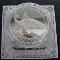 Ukraine Silver Coin Marena Dniprovska Сarp 10 UAH 2018 Proof - Ukraine