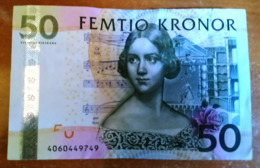 """Sweden 50 Kronor 2004 P-64a VF """"free Shipping Via Registered Air Mail"""" - Schweden"""