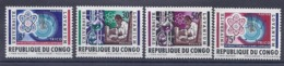 190032010  CONGO   YVERT  Nº  524/526/528/530  **/MNH - República Del Congo (1960-64)