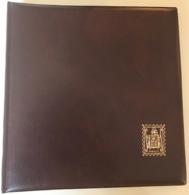 España 1981 / 84. Album Sin Tapas Y Hojas Edifil Bloque De 4 En Negro Y Transparentes. - Encuadernaciones Y Hojas