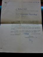 CAMP DE Linas-Montlhéry Seine/Oise Document Militaire AFFECTATION 1960 CIT 2é CIE-signé Colonel Cdt+Plan Accès Militaria - Documents