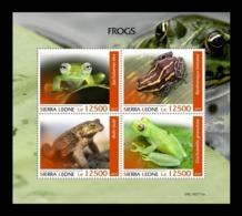 Sierra Leone 2019 Mih. 11031/34 Fauna. Frogs MNH ** - Sierra Leone (1961-...)