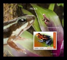 Sierra Leone 2019 Mih. 11035 (Bl.1708) Fauna. Frogs MNH ** - Sierra Leone (1961-...)