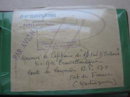 VEND LETTRE POUR LE BATEAU FORT D ' ORLEANS A FORT DE FRANCE - MARTINIQUE !!! - Briefe U. Dokumente