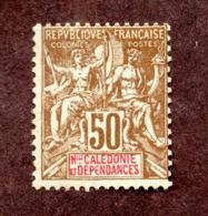 Nouvelle Calédonie N°63 N* TB  Cote 130 Euros !!!RARE - Neufs