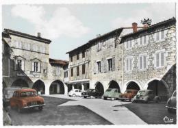 Castelnau De Montmirail Hotel Des Arcades 4CV 2Cv Dauphine Place De La Mairie - Castelnau De Montmirail