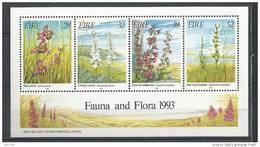 Irlande 1993 Bloc  N°13 Orchidées - Blocs-feuillets