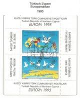 Türkisch-Zypern 1995  Mi.Nr. Block 14 (395/396) , EUROPA CEPT - Frieden Und Freiheit - Gestempelt / Fine Used / (o) - Europa-CEPT