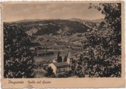 Pinguente, Pola (Buzet, Pula): Valle Del Quieto. Viaggiata 1952 Con Annullo Pinguente Pola - Croazia