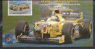 Irlande 2001 Bloc  N°41 Neuf, Course Automobile Avec Surcharge  Expo De Bruxelles - Blocs-feuillets