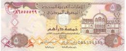UNITED ARAB EMIRATES 5 DIRHAMS 2004 PICK 19c UNC - United Arab Emirates