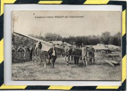 DPT 47 . - . MARMANDE - CARTE TRES RARE . - . AVIATRICE CELINA ( CELINE )  MURAT SUR DEPERDUSSIN - CIRCULEE EN 1911. - Aviatori