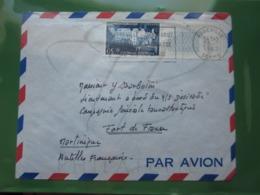 VEND N° 1333 SUR LETTRE POUR LE BATEAU DESIRADE A FORT DE FRANCE - MARTINIQUE !!! - Briefe U. Dokumente