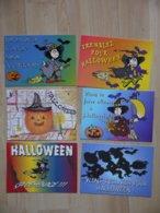 HALLOWEEN   LOT DE 6 CARTES - Halloween