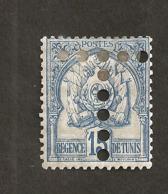 Tunisie Taxe N°14 N* TB  Cote 27 Euros !!!RARE - Tunisia (1888-1955)
