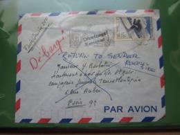 VEND N° 1326 SUR LETTRE POUR LE BATEAU ST-MALO !!! - Briefe U. Dokumente