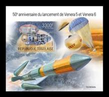 Togo 2019 Mih. 10187 (Bl.1834) Space. Venera 5 And Venera 6 MNH ** - Togo (1960-...)