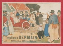 PUB - Affiches - Automobile - Voitures Germain - Publicité