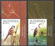 2019 - SLOVENIA / SLOVENJA - EUROPA  CEPT - UCCELLI / BIRDS. MNH. - 2019