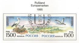 Rußland / Rossija 1995  Mi.Nr. 471 / 472 , EUROPA CEPT - Frieden Und Freiheit - Gestempelt / Fine Used / (o) - Europa-CEPT