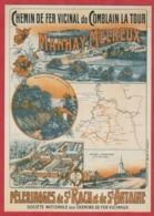 PUB - Affiches - Chemin De Fer - Manhay Melreux - Publicité